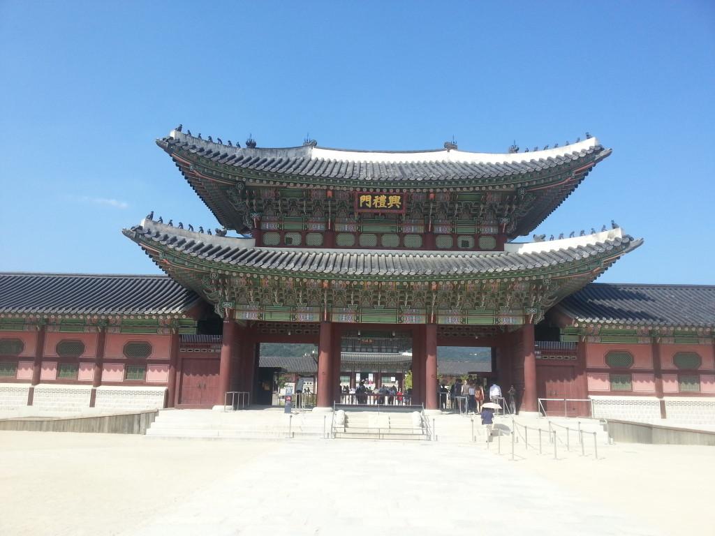 Gwanghwamun Palace Seoul